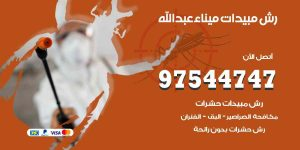 رش مبيدات ميناء عبد الله