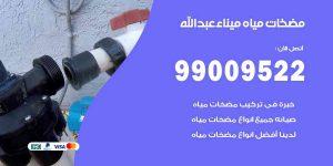 مضخات مياه ميناء عبد الله